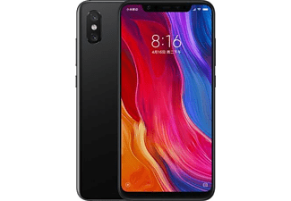 Móvil Xiaomi Mi 8 Negro 64 Gb 6 Gb Ram 6 21 Snapdragon 845 3400 Mah Android