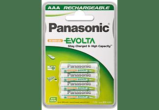 Wentronic AAA 800mAh NiMH 4-BL EVOLTA Panasonic Níquel metal hidruro 800mAh 1.2V batería recargable