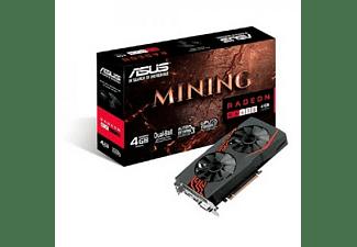 Tarjeta gráfica - Asus MINING-RX470-4GB, 4GB, GDDR5, 256 bits, Especial Mineria
