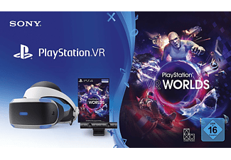 PS4 PlayStation VR + Cámara + VR Worlds Voucher