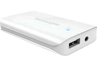 INNERGIE 70115 Ultra Slim Universal Adapter 65 Watt mit USB Port, Notebook Netzteil