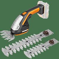 WORX WORX WG801E 20V ohne Akku und Ladegerät Akku-Gras- und Strauchschere