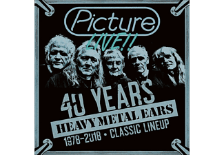 Picture - Live-40 Years Heavy Metal Ears (1978-2018) - (CD)