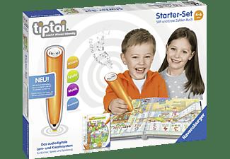 RAVENSBURGER Starter-Set: Stift und Erste Zahlen-Buch tiptoi Stift Mehrfarbig