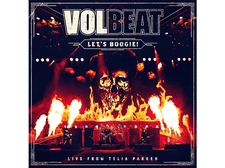 Volbeat - Let's Boogie! Live from Telia Parken (2 Disks) [CD]