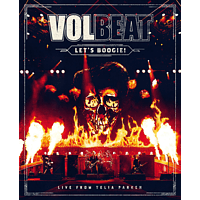 Volbeat - Let's Boogie! Live from Telia Parken (3 Disks) [CD + DVD Video]
