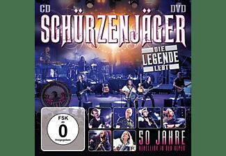 Schürzenjäger - DIE LEGENDE LEBT - 50 JAHRE REBELLION IN DEN ALPEN  - (CD + DVD Video)