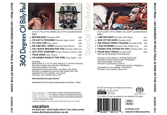 Billy Paul - 360 Degrees Of Billy Paul  - (SACD Hybrid)
