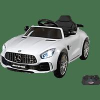 JAMARA KIDS Ride On Car – Mercedes-AMG GT R 2,4 GHz 12V Kinderelektroauto Weiß