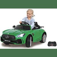 JAMARA KIDS Ride On Car – Mercedes-AMG GT R 2,4 GHz 12 V Kinderelektroauto, Grün