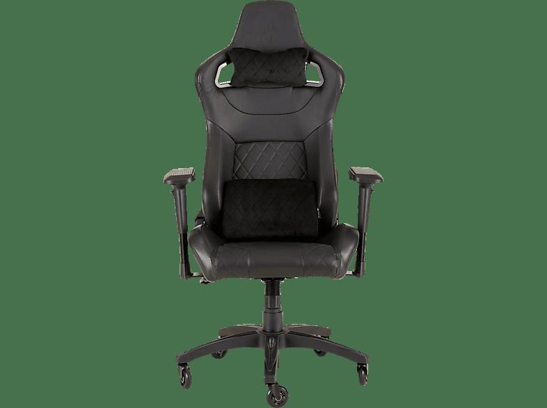 CORSAIR CF-9010011-WW T1-V2 RACE Gaming Stuhl, Schwarz/Schwarz