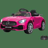 JAMARA KIDS Ride On Car – Mercedes-AMG GT R 2,4 GHz 12V Kinderelektroauto Pink