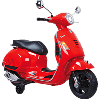 JAMARA KIDS Ride On – Roller Vespa Kinderelektroroller, Rot