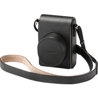 PANASONIC LX 100  Kameratasche , Schwarz
