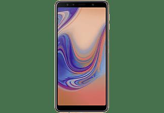 "Móvil - Samsung Galaxy A7, Oro, 64 GB, 4 GB RAM, 6"", Octa-Core, 3300 mAh, Android"