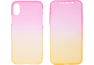 V-DESIGN V-LV 092 Handyhülle, Apple iPhone X, iPhone XS, Pink-gelb