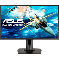 ASUS Gaming Monitor VG278QR, 27 Zoll, FHD, 165Hz, 400cd, 0.5ms, TN Panel, Schwarz