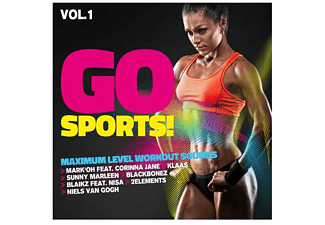 VARIOUS - Go Sports Vol.1-Maximum Level Workout Sounds - (CD)
