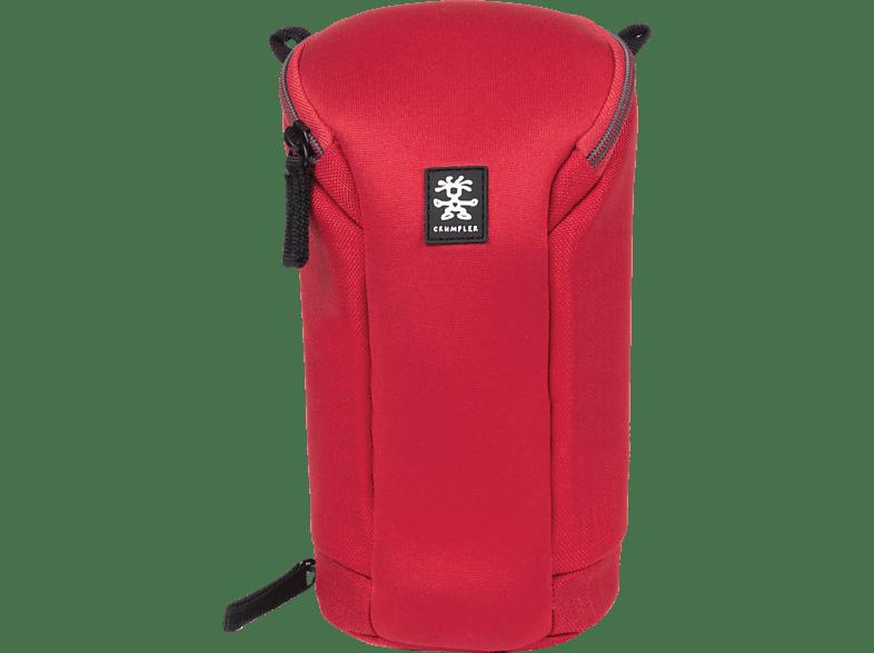 CRUMPLER BLLC-XL-004 BASE LAYER LENS CASE XL CLEAR RED Objektivtasche , Rot
