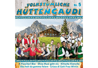 VARIOUS - Volkstümliche Hüttengaudi Nr.5  - (CD)