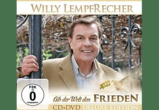 Willy Lempfecher - Gib der Welt den Frieden - Deluxe Edition  - (CD + DVD Video)