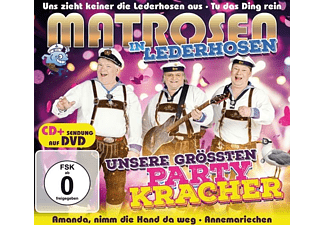 Matrosen In Lederhosen - Unsere größten Partykracher  - (CD + DVD Video)