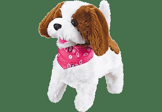 JAMARA KIDS RC Plüschhund Lucky RC Hund Weiß/Braun