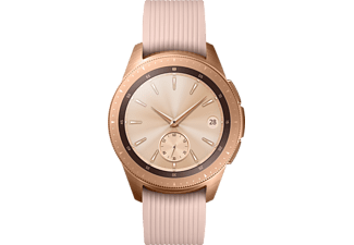 SAMSUNG Galaxy Watch 42 mm LTE Smartwatch Edelstahl Silikon, S, L, Roségold