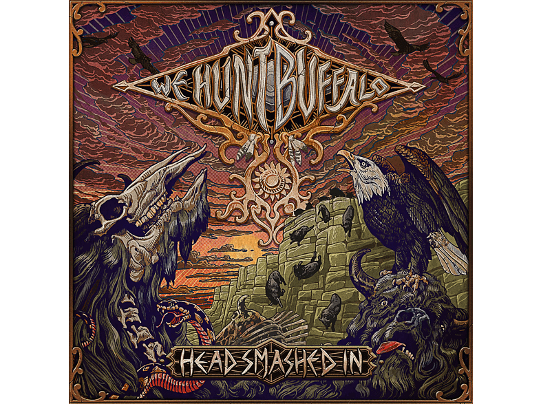 We Hunt Buffalo - Head Smashed In [CD]