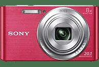 SONY Cyber-shot DSC-W830 Zeiss Digitalkamera Pink, 20.1 Megapixel, 8x opt. Zoom, TFT-LCD, Xtra Fine