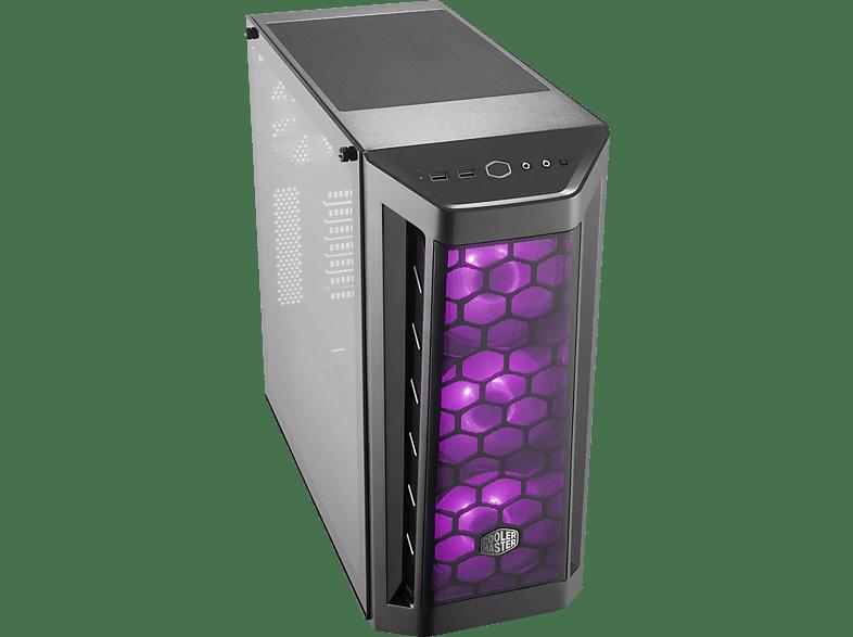 COOLER MASTER MasterBox MB511 RGB PC-Gehäuse, Schwarz