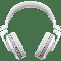 PIONEER HDJ-X5BT, Over-ear Kopfhörer Bluetooth Weiß