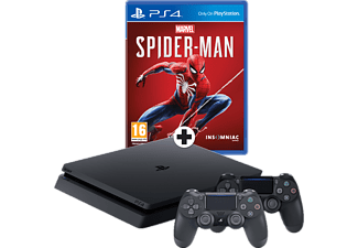 SONY PlayStation 4 1TB + Spider-man + extra Dualshock 4-controller