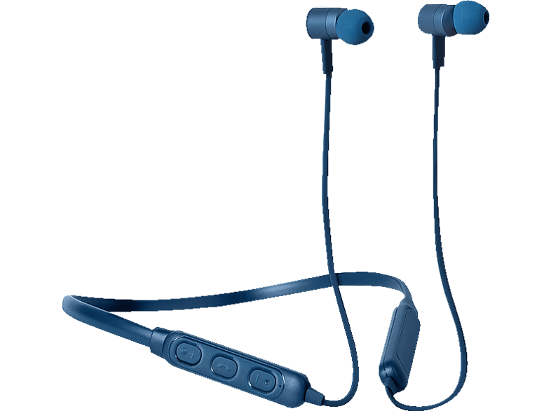 FRESH N REBEL Band-It BT In-Ear Kopfhörer, Indigo, In-ear Kopfhörer Bluetooth Blau