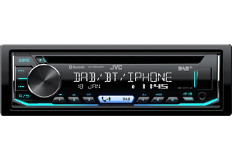 JVC Autoradio KD-DB902BT Schwarz