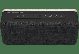 THOMSON WS04 RETRO Bluetooth Lautsprecher, Schwarz