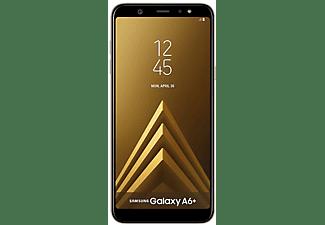 "Móvil - Samsung Galaxy A6+, Dorado, 32 GB, 3 GB RAM, 6"", Snapdragon 450, 3500 mAh, Android"