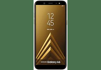 "Móvil - Samsung Galaxy A6, Dorado, 32 GB, 3 GB RAM, 5.6"", Exynos 7879, 3000 mAh, Android"