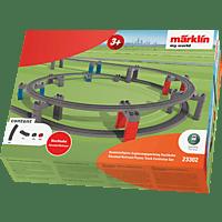 """MÄRKLIN 23302 - Kunststoffgleis-Ergänzungspackung """"Hochbahn"""" Zubehör Eisenbahn, Mehrfarbig"""
