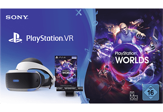 SONY PlayStation VR + Camera + VR Worlds Voucher Virtual Reality Brille