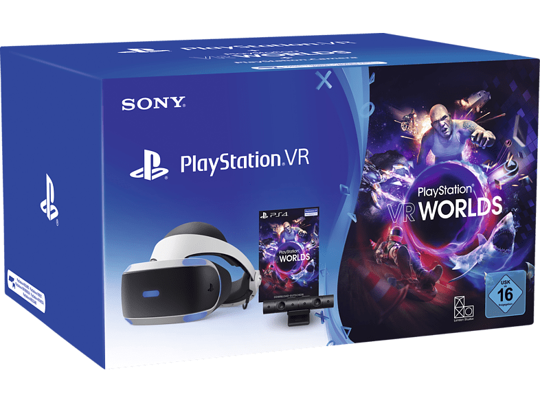SONY PlayStation VR + Camera + VR Worlds Voucher