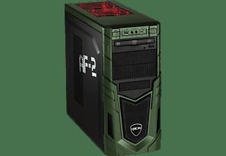 HYRICAN MILITARY GAMING 6278, Gaming PC mit Core™ i7 Prozessor, 16 GB RAM, 240 GB SSD, 1 TB HDD, GeForce® GTX 1660 Ti, 6 GB