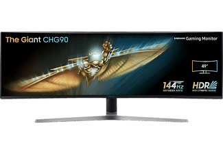 SAMSUNG C49HG90DMU Curved   Gaming Monitor (1 ms Reaktionszeit, FreeSync, 144 Hz)