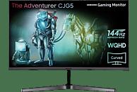 SAMSUNG LC32JG50QQUXZG 31.5 Zoll WQHD Monitor (4 ms Reaktionszeit, 144 Hz)