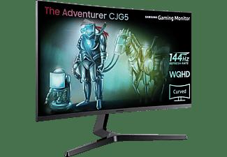 SAMSUNG LC32JG50QQUXZG 31,5 Zoll WQHD Monitor (4 ms Reaktionszeit, 144 Hz)