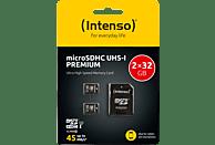 INTENSO 2x MicroSDHC Speicherkarte 32 GB