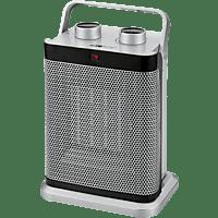 CLATRONIC HL 3631 Heizlüfter Silber (1500 Watt)