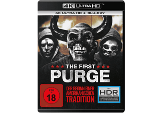 The First Purge - (4K Ultra HD Blu-ray + Blu-ray)