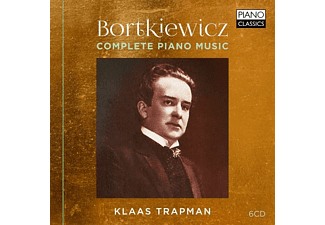 Klaas Trapman - COMPLETE PIANO MUSIC - (CD)