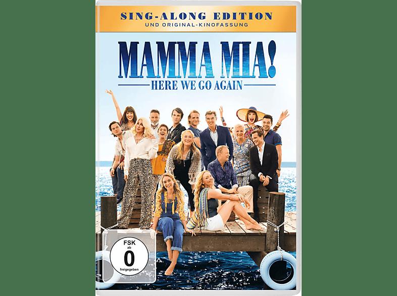 Mamma Mia! Here we go again [DVD]